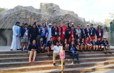 Paraguayos ocupan sede del Mundial de Abu Dhabi