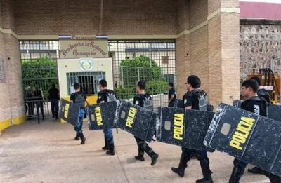 HOY / Tercer motín en menos de un mes en cárceles, ahora en Concepción: PCC y su 'marca'