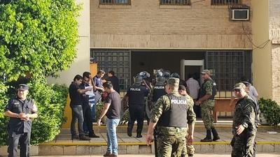 Motín y toma de rehenes en la Penitenciaría de Concepción