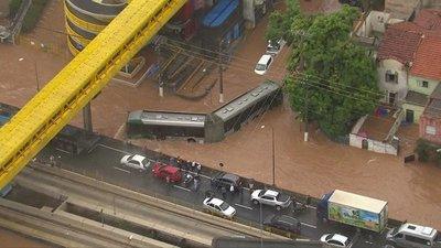 Temporal deja al menos doce muertos en Brasil
