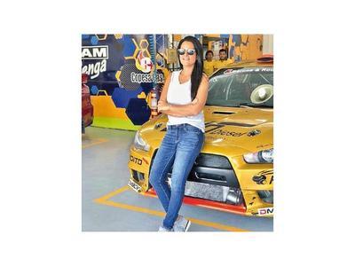 Andrea Lafarja,  la novedad en Guairá