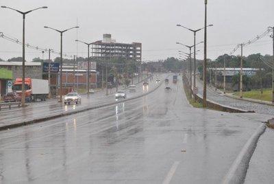 Alertan a 9 departamentos por tormentas y granizos