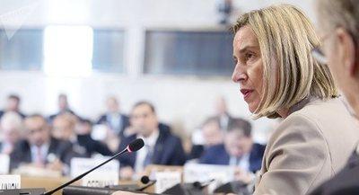 Mogherini se expresa en contra de intervención militar en Venezuela