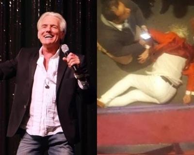 Cantante argentino queda con graves lesiones tras caída