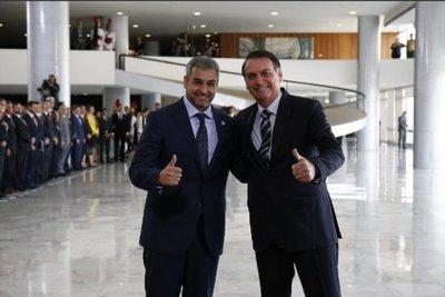 Mario Abdo y Bolsonaro conversan sobre Itaipú y refugiados políticos – Prensa 5