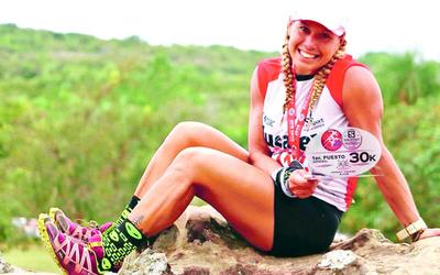 Esteña es campeona en trail 30 km