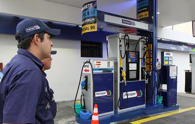 Petropar no prevé aumento en el precio de sus combustibles