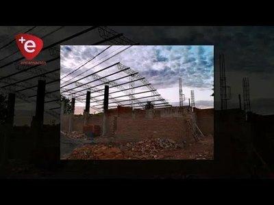 CONSTRUYEN MODERNO CENTRO CULTURAL EN CAMBYRETÁ