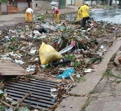Asunción se declara en Emergencia Ambiental por gran cantidad de basura