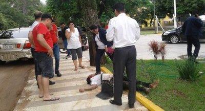 San Juan Bautista: Tras colisión motociclista perdió la vida