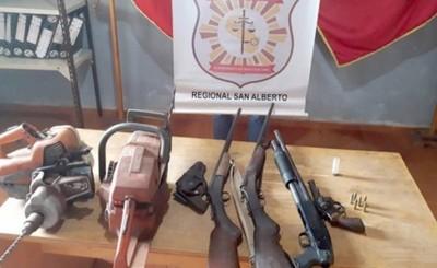 Peligrosos delincuentes detenidos en Itakyry