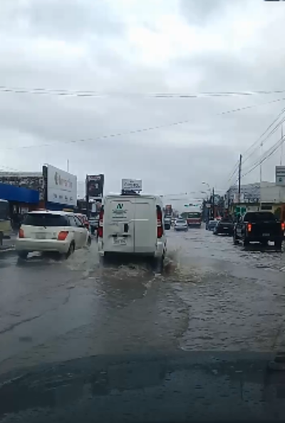 Urge un desagüe pluvial