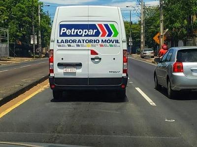 Petropar verificó calidad de los productos vendidos en su red de estaciones