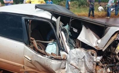 Bombera fallece en brutal accidente de tránsito