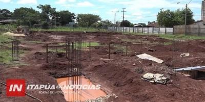 AVANZA CONSTRUCCIÓN DE LA FACULTAD DE MEDICINA EN ENCARNACIÓN