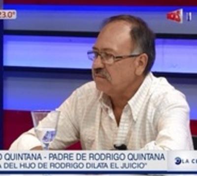Denuncian que la madre de la hija de Rodrigo Quintana dilata el juicio