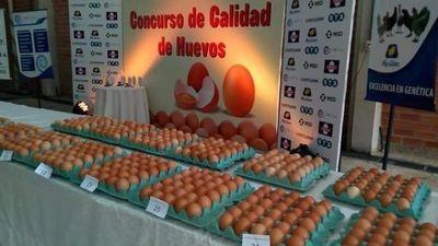 Empresa roseña entre los primeros puestos del país en un concurso de calidad de huevos