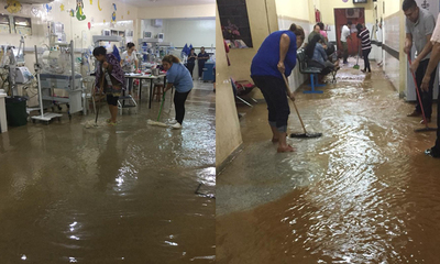 Hospital de Coronel Oviedo bajo agua – Prensa 5
