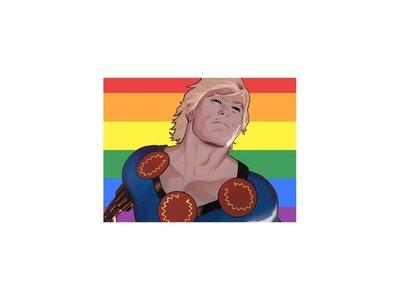 Crearán un superhéroe homosexual