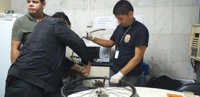Encuentran drogas dentro de ruedas de bici – Prensa 5