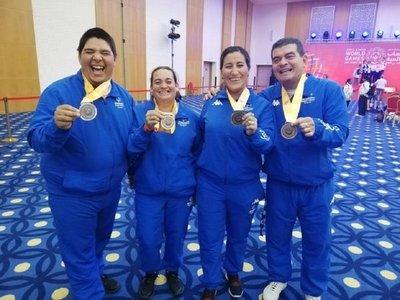 Paraguay suma las primeras medallas
