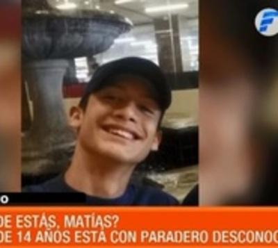 Familia desesperada busca a joven de 14 años que está desaparecido