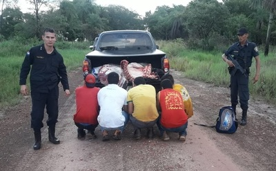 Policía aprehende a concejal municipal con carne de dudosa procedencia