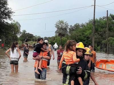 Reportaron más de 2.000 familias afectadas por eventos climáticos