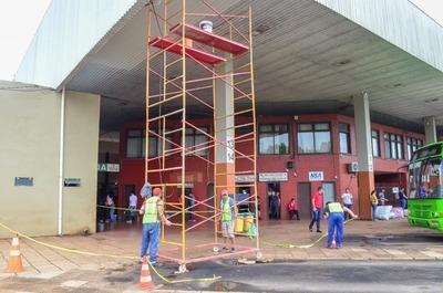 Terminal de Ómnibus de Ciudad del Este recibe trabajos de mejoras