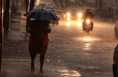 Inicio de semana con lluvias y tormentas