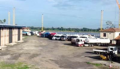 Puerto de Pilar listo para envío de primera carga de exportación