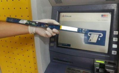 Detienen a un brasileño supuesto clonador de tarjetas