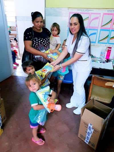 Niños y embarazadas de Curuguaty recibirán leche fortificada