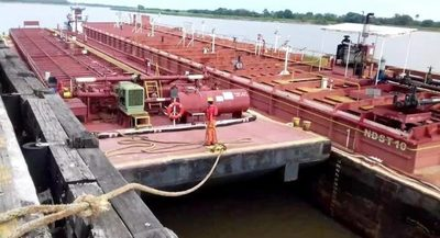 En Puerto de Pilar preparan primer envío de carga de exportación