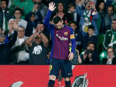 Con la genialidad de Messi, Barcelona se encamina al título