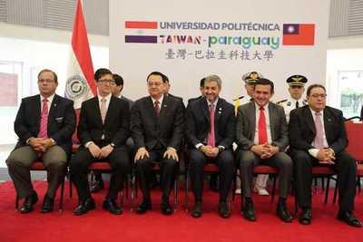 Mandatario participó de inauguración de universidad politécnica