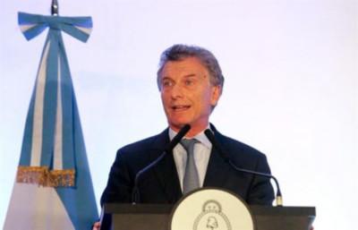 """Macri dice que Fernández """"no está bien"""" pero cree que será su rival en las urnas"""