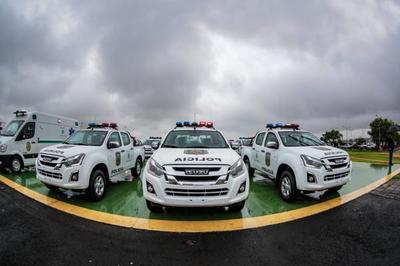 Gobierno dota de nuevas patrulleras a la Policía Nacional