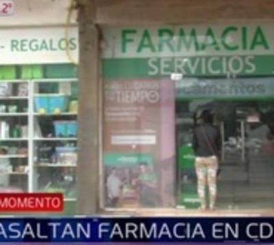 """""""Un asalto a la cadena por semana"""": Roban recaudación de farmacia"""