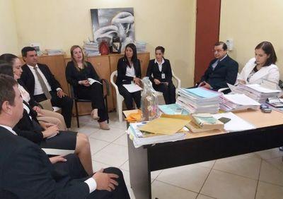 Consejo de Administración se reunió con jueces y funcionarios
