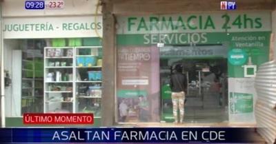 """""""Un asalto a la cadena por semana"""": Roban recaudación de farmacia – Prensa 5"""
