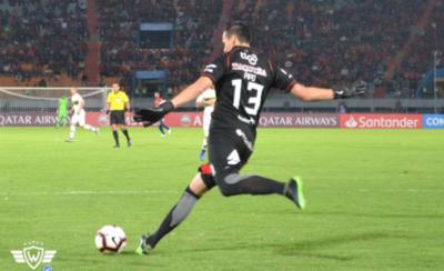 HOY / Paraguayo se destaca en la Copa con buenas atajadas