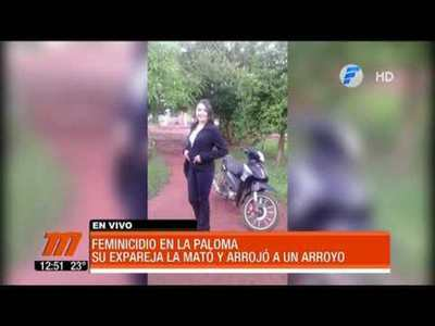 Feminicidio en Canindeyú