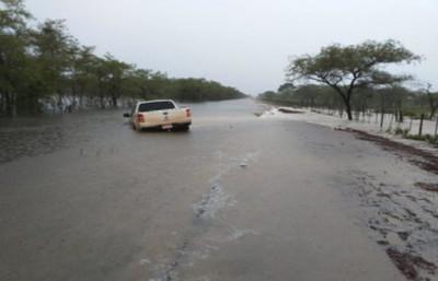Cerca de 7.000 habitantes los que se encuentran aislados en Paso Barreto