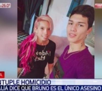 Fiscalía no tiene dudas que Bruno Marabel mató a cinco personas