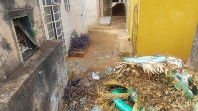 Cementerio de Ybycuí en deplorable estado