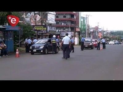 POLICIA Y TRANSITO REALIZAN OPERATIVOS EN ENCARNACION
