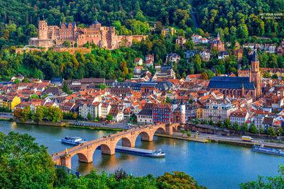La bella ciudad de Heidelberg