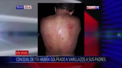 Concejal de Itá golpeó brutalmente con una varilla a sus padres – Prensa 5
