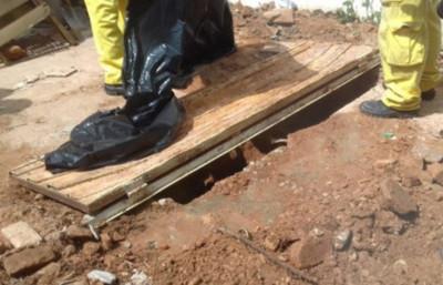 Encuentran posibles restos humanos en Asunción